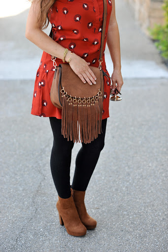 Fringe Bag and Boots