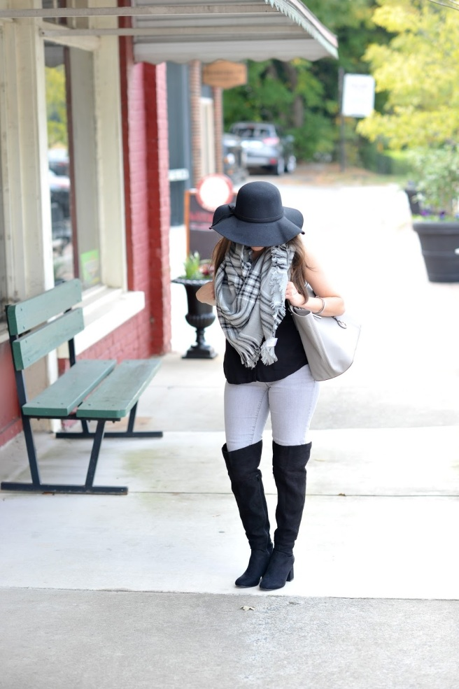 zaful floppy hat